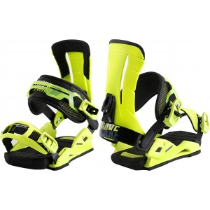 WIĄZANIA SNOWBOARDOWE DRAKE SUPERSPORT 2017 yellow fluo/black